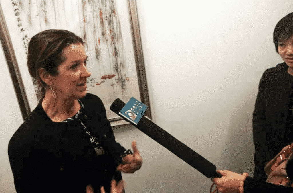 Victoria Hislop interview for  STV ( Art & Culture Channel), China