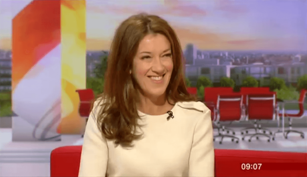 Victoria Hislop on BBC Breakfast